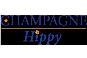 champage hippy logo
