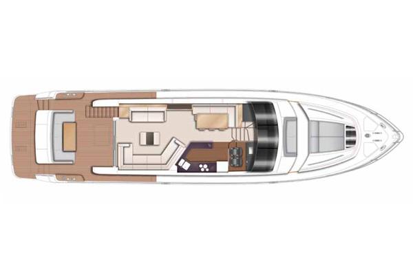 Princess 72 Main Deck