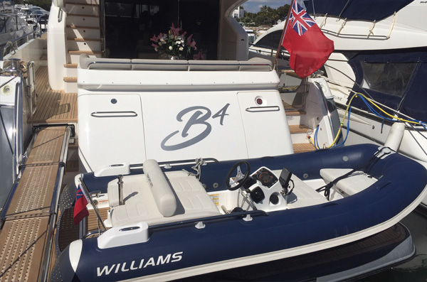 Princess 72 Williams
