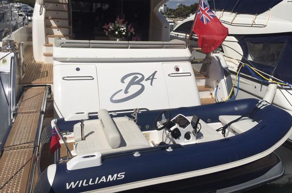 Princess 72 Williams